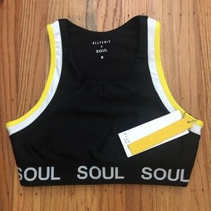 SoulCycle All Fenix colorblocked bra